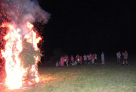 Svätojánsky oheň