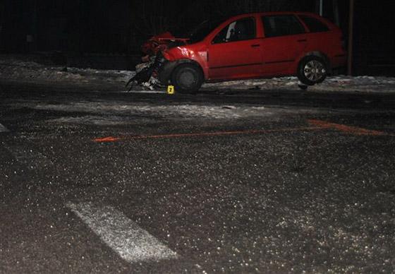 Opitý vodič vrazil autom do kamiónu, nafúkal cez jedno promile
