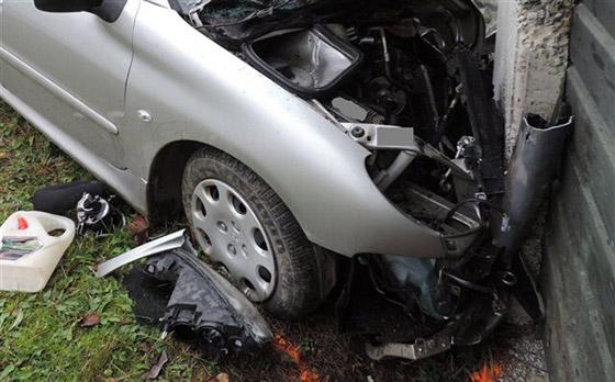 39 ročná vodička utrpela pri nehode ťažké zranenia, ktorým v nemocnici podľahla