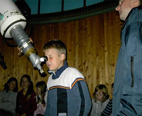 ZŠ- Podvysoká - výlet do hvezdárne
