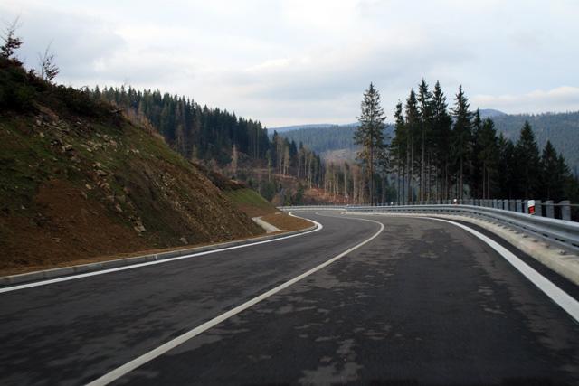 Silnice II/520 Nová Bystrica - Oravská Lesná