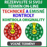 On-line rezervácia - Technická kontrola, emisná kontrola, kontrola originality, STK, Čadca