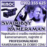 Svadobný kameraman, svadby, točenie svadieb
