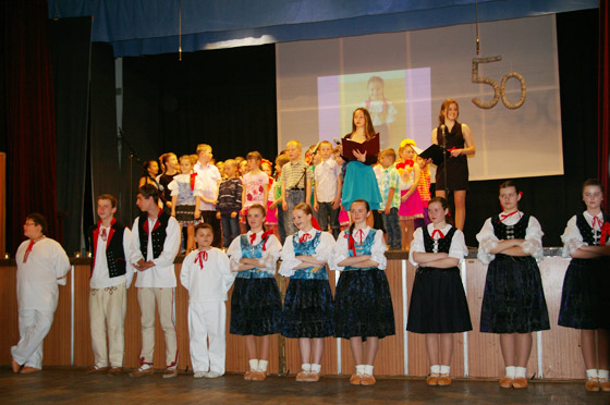50. výročie Základnej školy Milana Mravca v obci Raková