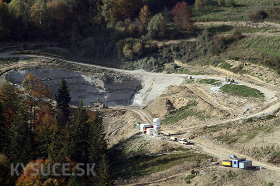 NDS začne raziť tunel Svrčinovec na diaľnici D3