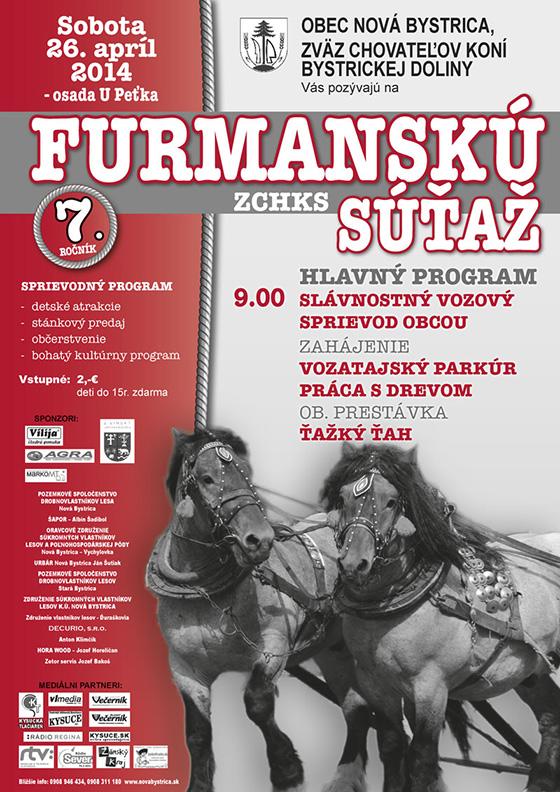 Dnes furmanská súťaž ZCHKS v Novej Bystrici
