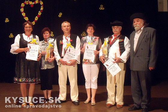 Ženská spevácka skupina Dolinka z Novej Bystrice víťazom regionálnej súťaže