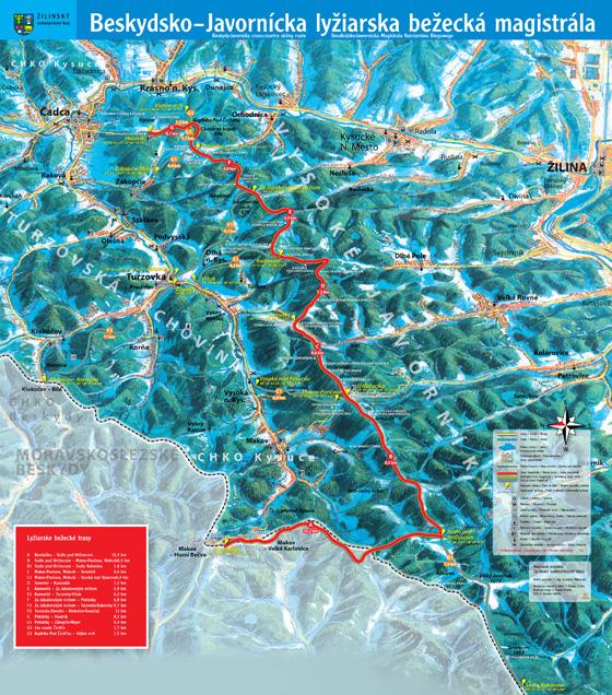 Beskydsko-javornícku lyžiarsku magistrálu už testujú