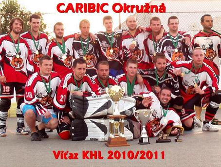 Caribic Okružná je MAJSTER KHL 2010/2011. Dlhoročný predseda KHÚ F. Ujházi už za predsedu kandidovať nebude