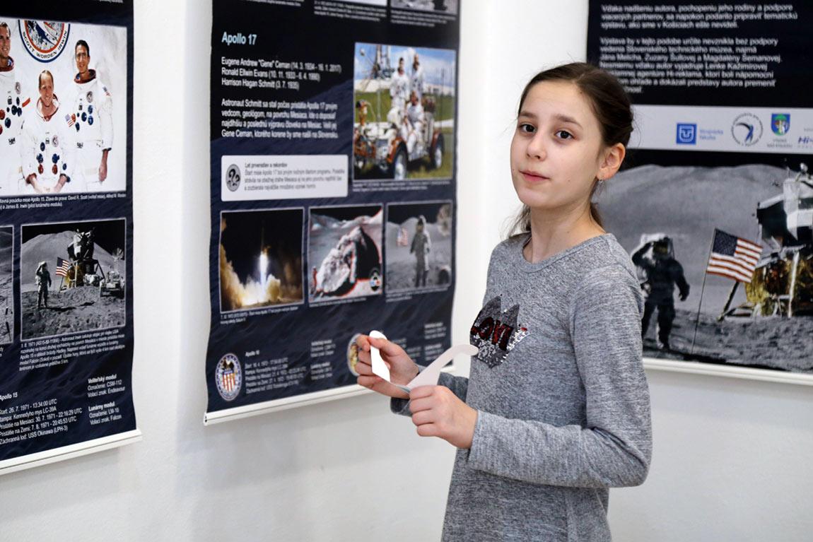 Výstava Cesta na Mesiac v Kysuckom múzeum v Čadci