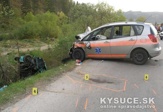 Pri dopravnej nehode v obci Stará Bystrica vyhasol život 20 ročnej dievčiny