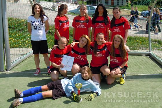 Futbalový turnaj žiakov a žiačok základných škôl s vysokou účasťou