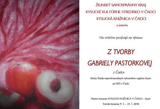 Zima na palete, Z tvorby Gabriely Pastorkovej