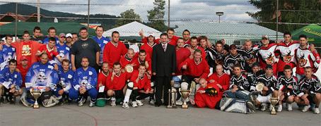 Hokejbalový turnaj o pohár primátora mesta Čadca pozná víťazov