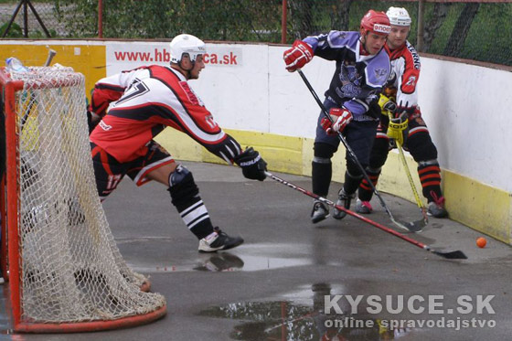 Hokejbal PLAY OFF: Krásno musí zabrať, Suché dresy prišli o vedenie