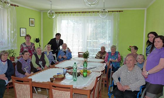 Juraj Blanár odvolil v obci Vysoká nad Kysucou, navštívil tu ajZariadene pre seniorov