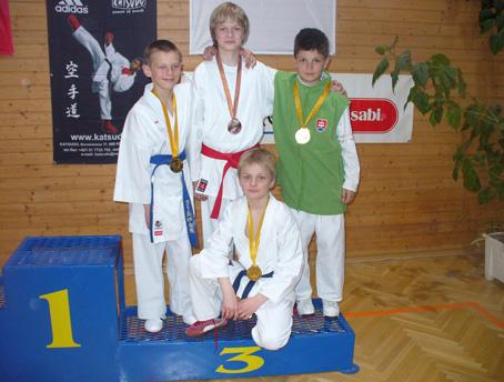 Klub karate ZZO Čadca opäť medailovo