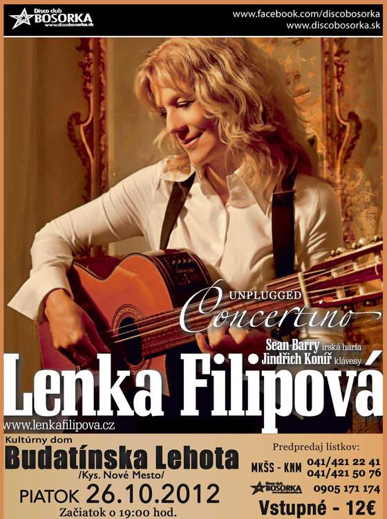 Koncert Lenky Filipovej pripravujú v Kysuckom Novom Meste