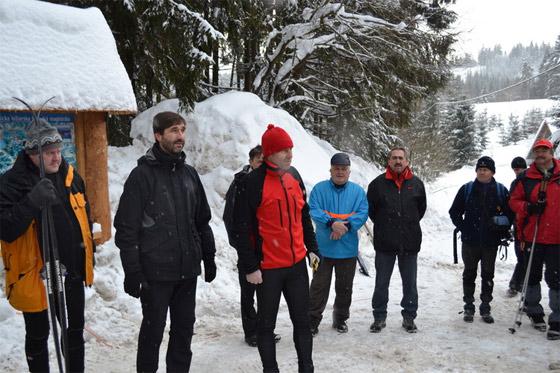 Bežkárom slúži už 20 km úsek Beskydsko-Javorníckej lyžiarskej magistrály