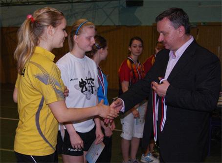 Majstrovstvá Slovenskej republiky juniorov v stolnom tenise v Čadci