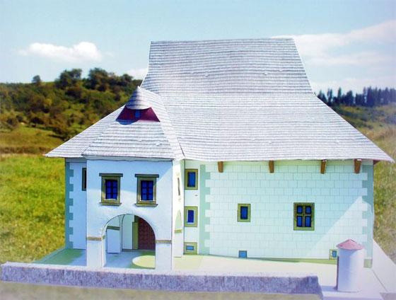Papierové vystrihovačky stvárňujú kaštieľ v Radoli či Hviezdicovú pevnosť Šance na Čiernom