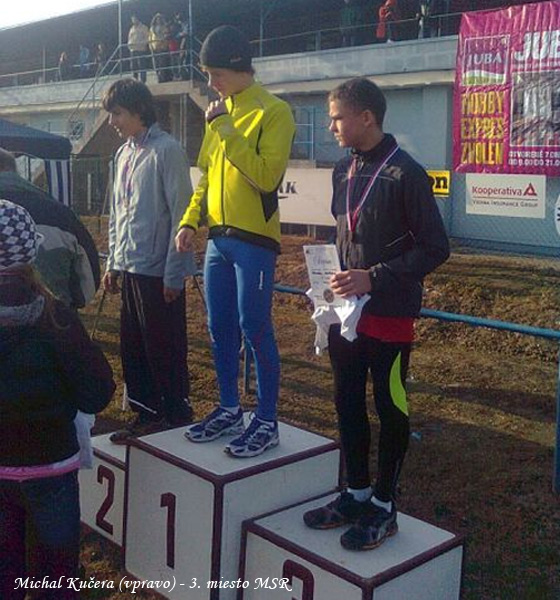 Majstrovstvá SR v cezpoľnom behu boli pre bežcov z Kysúc medailové