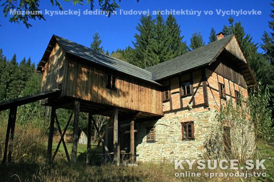 Múzeum kysuckej dediny vo Vychylovke