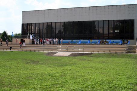 Čadca 16.08.2010 - nedávno sa uskutočnila i. etapa prestavby krytej