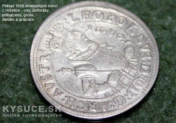 Aj poklad mincí z Horelice bude možné prezrieť si v 3D