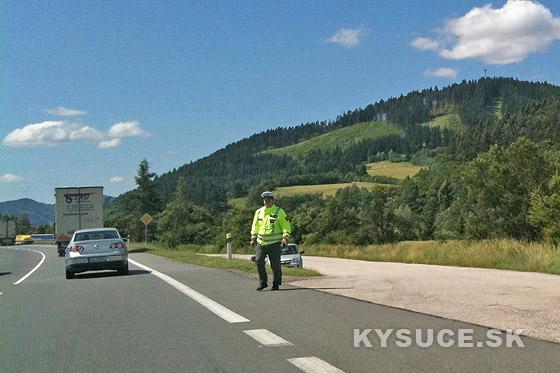 Osobitná kontrola na cestách v Žilinskom kraji