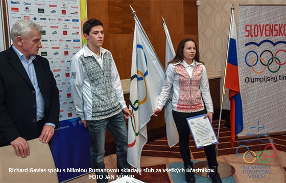 Mladí Slováci zložili sľub pred odchodom na II. ZOHM v Lillehammeri