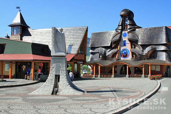 Na Kysuciach pribudli sochy rozprávkových bytostí Maťka a Kubka