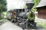 Video: Historická lesná úvraťová železnica má novú budovu stanice