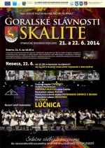 Na Goralských slávnostiach 2014 v obci Skalité privítajú Lúčnicu