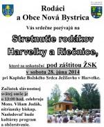 Stretnutie rodákov Harvelky a Riečnice