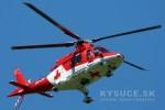 Zraneného lesného robotníka z Radôstky musel zachrániť vrtuľník