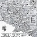 K dispozícii je 54 km Beskydsko-Javorníckej-bežeckej magistrály