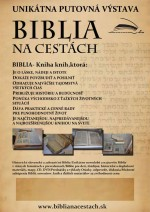 Putovná výstava Biblia na cestách zavíta do Kysuckej knižnice v Čadci
