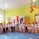 Deti vystúpili s pásmom veršov a piesní ku Dňu matiek
