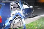 Opitý mladík narazil do stĺpu elektrického vedenia, spolujazdec zomrel na mieste nehody + foto