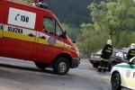 Vodič v Kysuckom Lieskovci zrazil chodkyňu dodávkou, chodkyňa nafúkala 2,1 promile