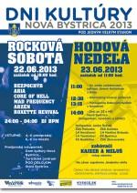 Dni kultúry Nová Bystrica sľubujú bohatý program