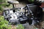 43-ročný muž bez vodičáku havaroval na traktore domácej výroby, nafúkal 2,83 promile