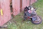 Tragédia v Nesluši: pri dopravnej nehode prišiel o život 61 ročný motocyklista + foto