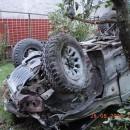 Troch vážne zranených si vyžiadala vážna dopravná nehoda v obci Oščadnica