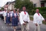 Ženská folklórna skupina z Krásna nad Kysucou účinkovala na folklórnom festivale v Ochodnici