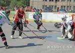 Video: Kysucké hokejbalové hviezdy žiarili v spoločnom zápase + foto