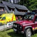 Zjazd na terénnej kolobežke v Oščadnici nezvládol 42 ročný muž, tržnú ranu mu ošetrili záchranári
