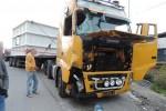 Na železničnej trati Čadca - Skalité - Poľská republika je premávka zastavená, havaroval tu kamión