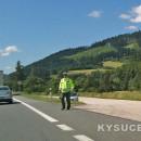 Polícia skontrolovala nekoordinovanú cyklistku, nafúkala 2,38 promile